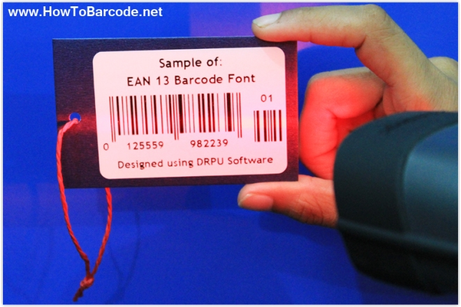 EAN13 barcode scanning
