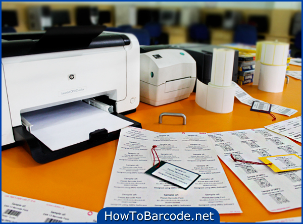 Generate Multiple Barcode Label