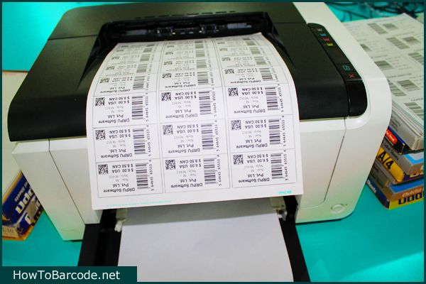 Print Barcode Labels