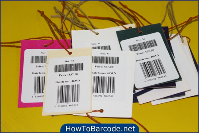 Product Barcode Label